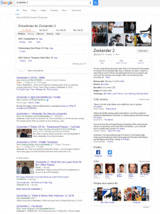 A Sample Of A Google SERP, changes to google ads